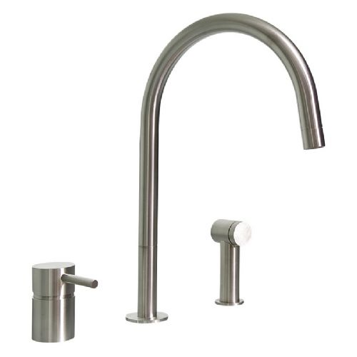 MGS F2 R SP Stainless Steel Kitchen Tap